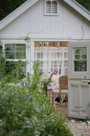 an inspired outdoor hideaway french country cottage she shed