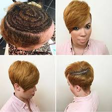 can you sew in extensions in a pixie hair cut 10 best sew in patterns images on pinterest hair dos weave hair