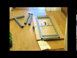 how to assemble ikea desk ikea galant desk time lapse assembly youtube