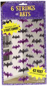 2 1m bat halloween decorations string party bats amscan hanging