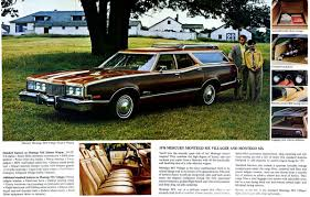 dark green station wagon classic wagon capsule 1977 cougar villager