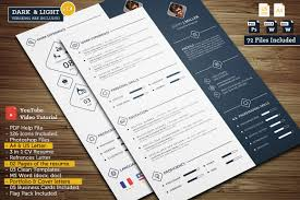 resume font and size 2015 videos power cv resume templates creative market