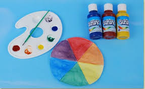 color wheel craft craft project ideas