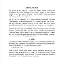 sample partnership proposal 8 documents in pdf word