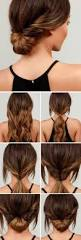 Simple But Elegant Hairstyles For Long Hair by Best 25 Office Updo Ideas On Pinterest Thick Hair Updo Hair