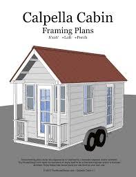 tiny house floor plans luxury calpella cabin 8 16 v1 floor plan tiny 8 16 tiny house plans awesome calpella cabin 8 16 v1 cover tiny