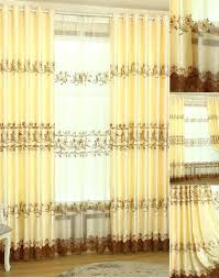Gold Color Curtains Gold Color Curtains Sheer Curtain Panel Available In 6 Colors Blue