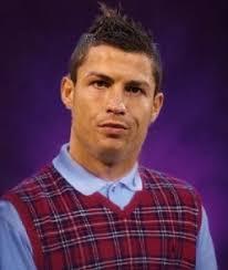 Cristiano Ronaldo Meme - luck cristiano ronaldo