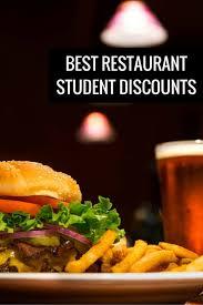 restaurant discounts 19 best restaurant student discounts tastebud