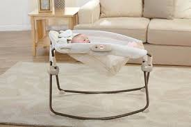 newborn baby cradle crib bedside bassinet portable collapsible