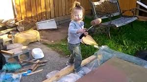 amelia painting brown osb with roller youtube