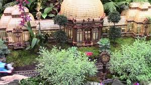 model train show travels new york botanical garden holiday train