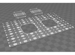 millenium falcon floor plan millennium falcon floor plan 3d models shapeways