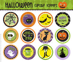 Halloween Pictures Printable Cm2 Halloween Cupcake Toppers F R E E Printable