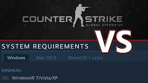 pubg pc requirements cs go vs its own minimum requirements 2017 youtube