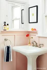 pink bathroom ideas 20 pink bathroom ideas domino