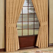Short Window Curtains by St Lucia Tropical Window Treatment Wide Short Window Curtains