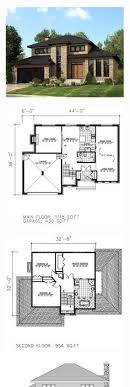modern house floor plan plan 80878pm dramatic contemporary with second floor deck
