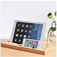 soothing charging station on etsy with slot wood charging plus