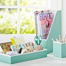 aqua blue desk accessories mint green aqua blue printed desk accessories solid pool with