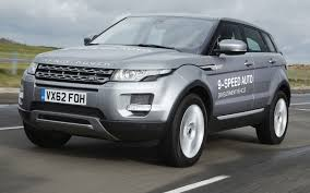 jeep land rover range rover evoque to be first to market with 9 speed automatic