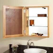 bathroom round bathroom mirror medicine cabinet with three way