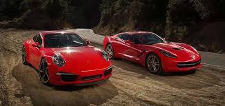 porsche 911 vs corvette 2015 chevrolet corvette stingray review and comparison
