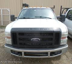Ford F350 Truck Rental - 2008 ford f350 super duty flatbed pickup truck with crane