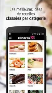 cuisine az com plat cuisineaz recettes cuisine apk free lifestyle app for