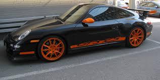 porsche orange black and orange modmissy
