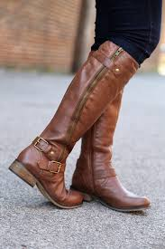 buy womens leather boots steve madden synicle brown boots