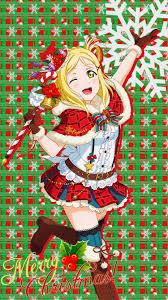 christmas surprise wallpapers love live sunshine aqours christmas phone wallpapers album on