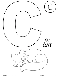 coloring pages decorative free printable alphabet coloring pages