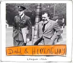 what colour paper did roald dahl write on tigerbaybooks apart from clearly doing some character research for the twits it s not clear how roald dahl and ernest hemingway came to be together here in london 1944
