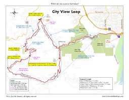 Canyon City Colorado Map by Deer Creek Canyon Area Coloradobikemaps