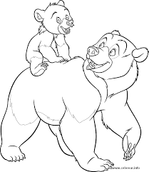 mother child bear coloring pages graffiti tutorial