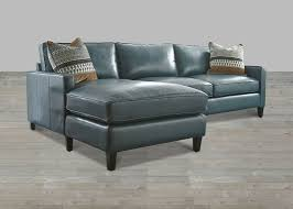 Blue Leather Chair Turquoise Leather Sectional With Chaise Lounge