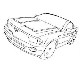 free car coloring pages bestofcoloring com