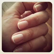 french manicure with thin white tips this is my idea of a perfect