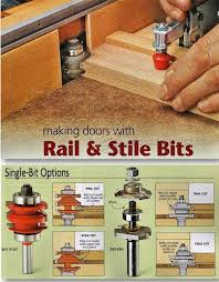 router bits for cabinet door making making doors with rail and stile bits cabinet door construction