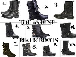 women s black motorcycle boots tease flutter pout the 10 best biker boots