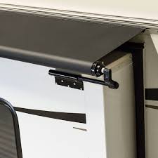 B Q Awnings Solera Slider With Awning Rail Lippert Components Inc Rv