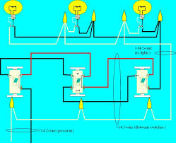 4 way switch wiring diagram multiple lights basic 4 way switch wiring electrical online