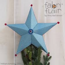 tree topper ornament fabriflair pattern indygojunction