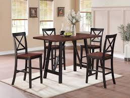 Modern Black Dining Room Sets by Black Counter Height Dining Room Sets