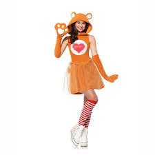 Junior Halloween Costumes Care Bears Brown Tenderheart Bear Juniors Teen Child Costume Leg