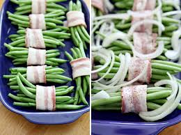 green bean bacon bundles the speckled palate