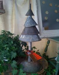 scrap metal funnel tree totally green crafts