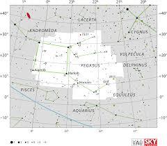 Map Of Constellations Pegasus Constellation Wikipedia