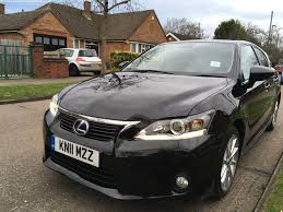 used lexus hybrid cars for sale used lexus ct series ct 2011 hybrid 1 8 black for sale in galway